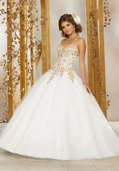 VALENCIA  BY MORI LEE 60074 QUINCEANERA DRESS