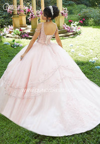 VIZCAYA BY MORI LEE 89274 QUINCEANERA DRESS