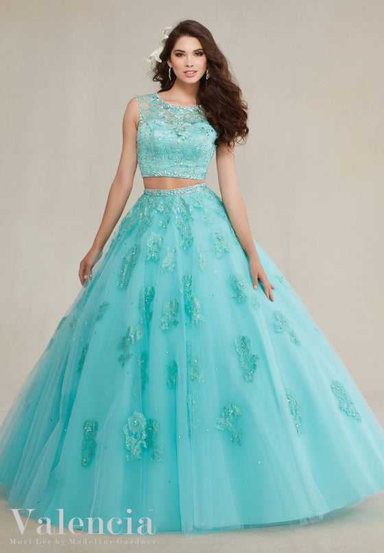 VALENCIA BY MORI LEE 89088  QUINCEANERA DRESS