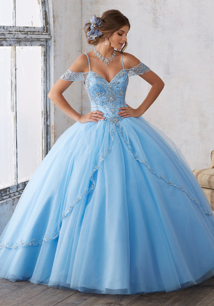 Quinceanera Dress 89135 Vizcaya Collection