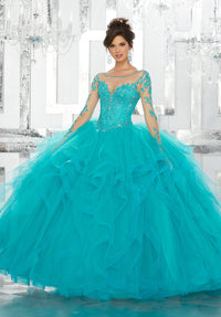 VIZCAYA BY MORI LEE 89142 QUINCEANERA DRESS