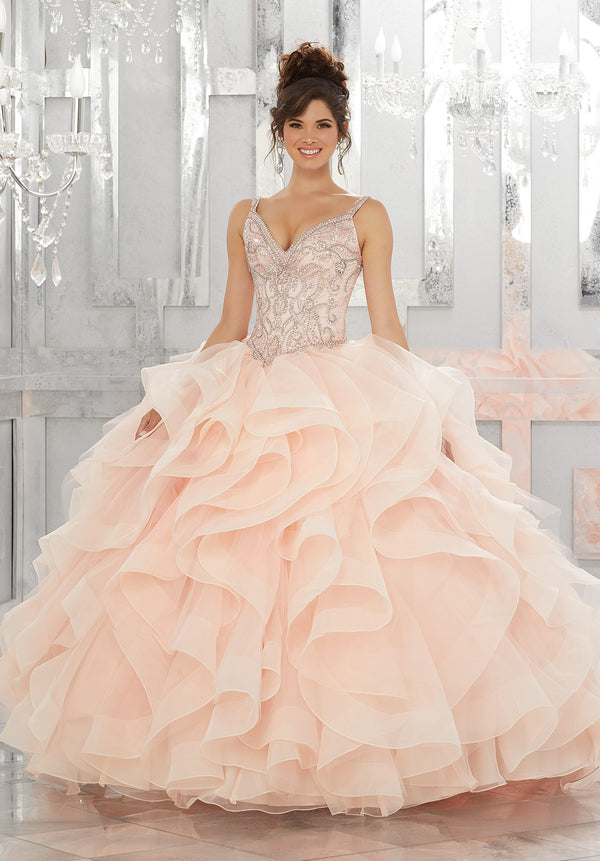 VIZCAYA BY MORI LEE 89148 QUINCEANERA DRESS