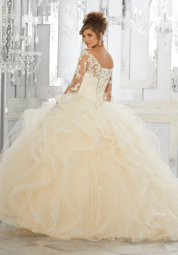 VIZCAYA BY MORI LEE 89153 QUINCEANERA DRESS