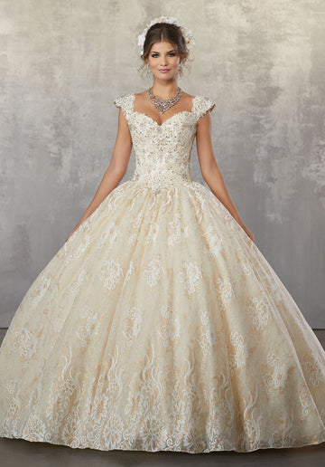 VIZCAYA BY MORI LEE 89179  QUINCEANERA DRESS