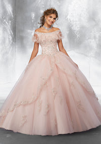 VIZCAYA BY MORI LEE 89181  QUINCEANERA DRESS