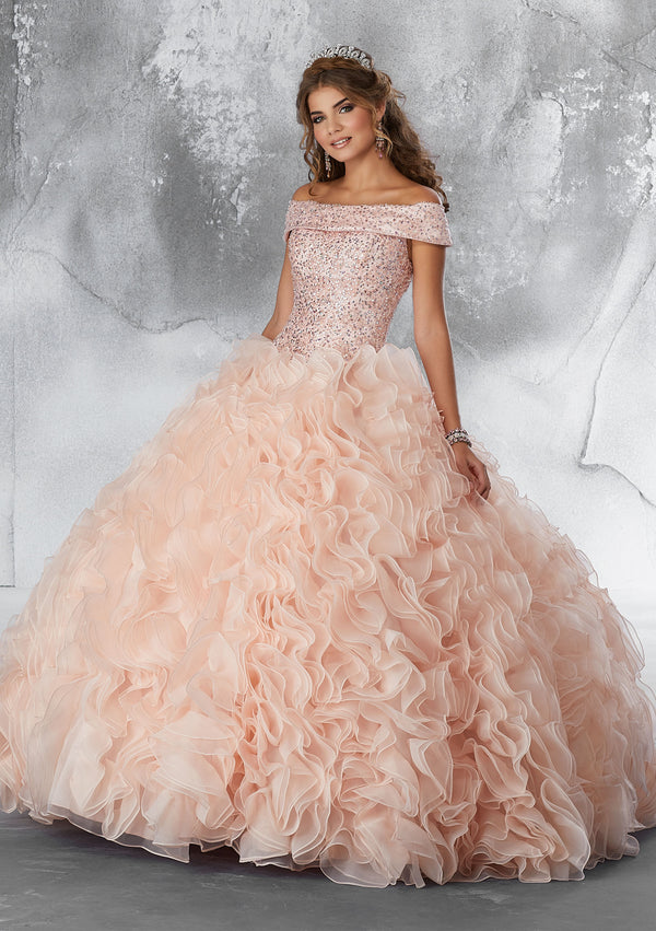VIZCAYA BY MORI LEE 89182  QUINCEANERA DRESS