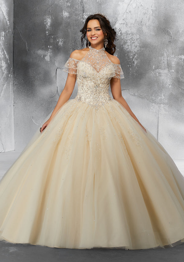 VIZCAYA BY MORI LEE 89183  QUINCEANERA DRESS
