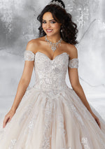 VIZCAYA BY MORI LEE 89186 QUINCEANERA DRESS