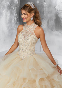 VIZCAYA BY MORI LEE 89187 QUINCEANERA DRESS