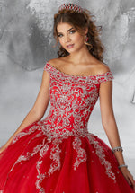 VIZCAYA BY MORI LEE 89191 QUINCEANERA DRESS