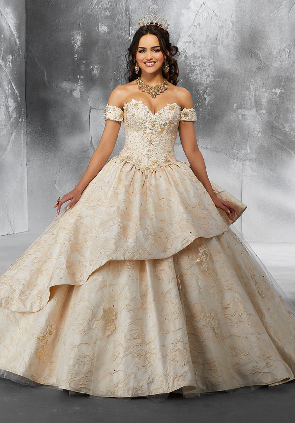 VIZCAYA BY MORI LEE 89193 QUINCEANERA DRESS