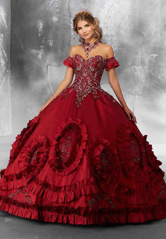 7cdde021634 VIZCAYA BY MORI LEE 89195 QUINCEANERA DRESS