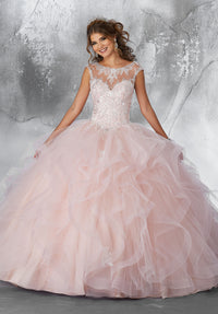 VIZCAYA BY MORI LEE 89198 QUINCEANERA DRESS