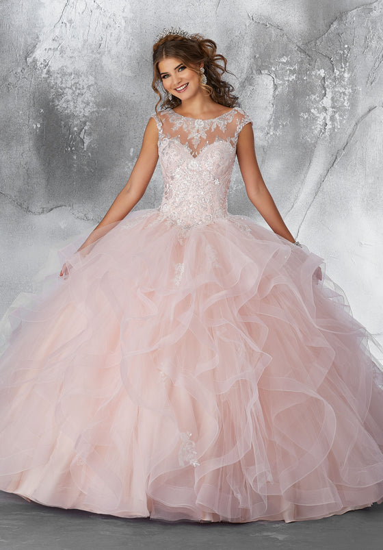 Quinceanera Dress 89198  Vizcaya Collection