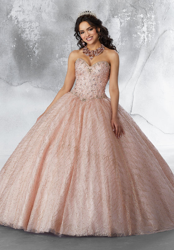 Quinceanera Dress 89199  Vizcaya Collection