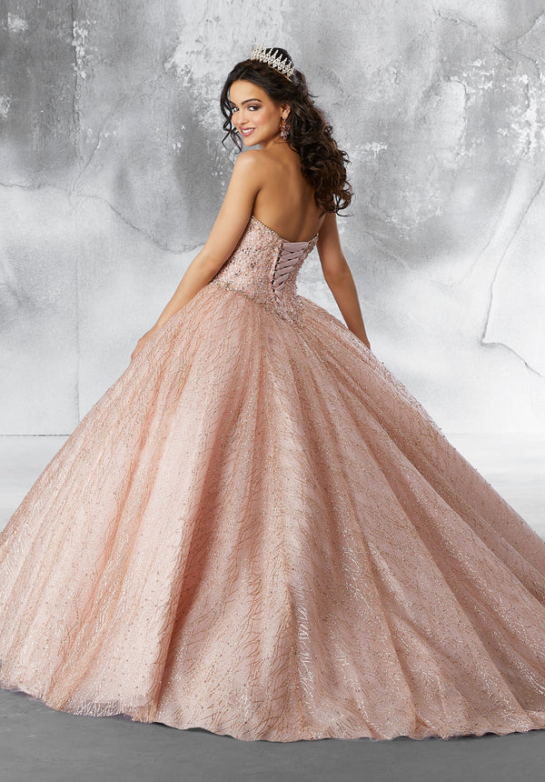 Sparkle Ball Gown With Cape Beautiful Quince Dress Quincedresses Com