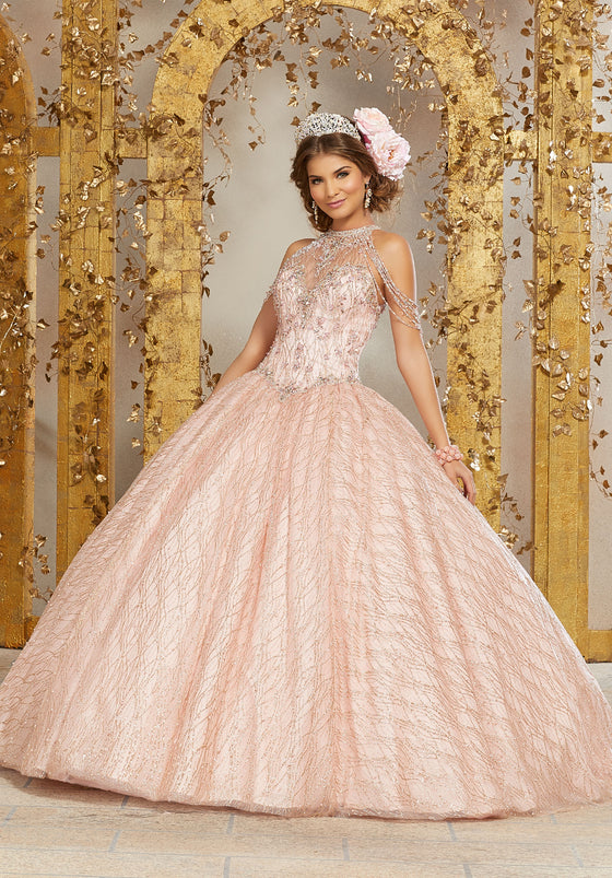 VIZCAYA BY MORI LEE 89221 QUINCEANERA DRESS