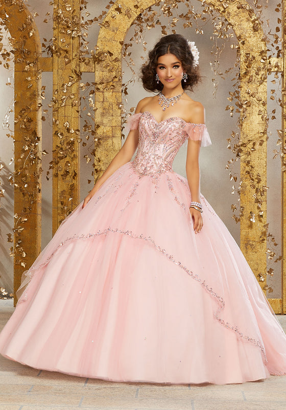 VIZCAYA BY MORI LEE 89222 QUINCEANERA DRESS
