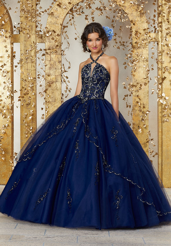 VIZCAYA BY MORI LEE 89224 QUINCEANERA DRESS