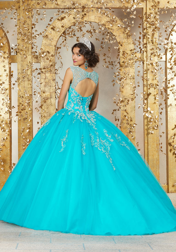 VIZCAYA BY MORI LEE 89225 QUINCEANERA DRESS