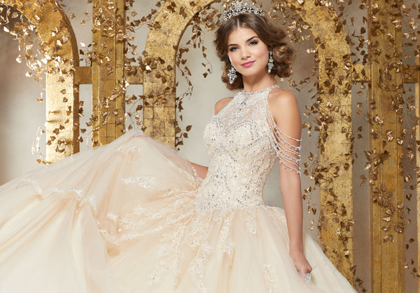 VIZCAYA BY MORI LEE 89227 QUINCEANERA DRESS