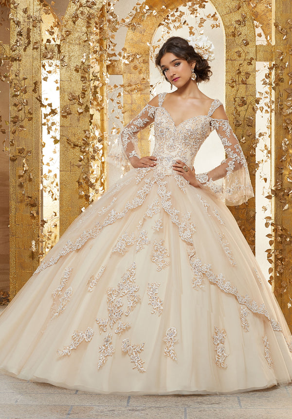 VIZCAYA BY MORI LEE 89228 QUINCEANERA DRESS