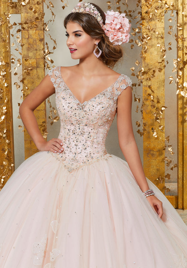 VIZCAYA BY MORI LEE 89229 QUINCEANERA DRESS