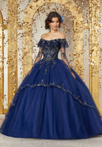 VIZCAYA BY MORI LEE 89235 QUINCEANERA DRESS