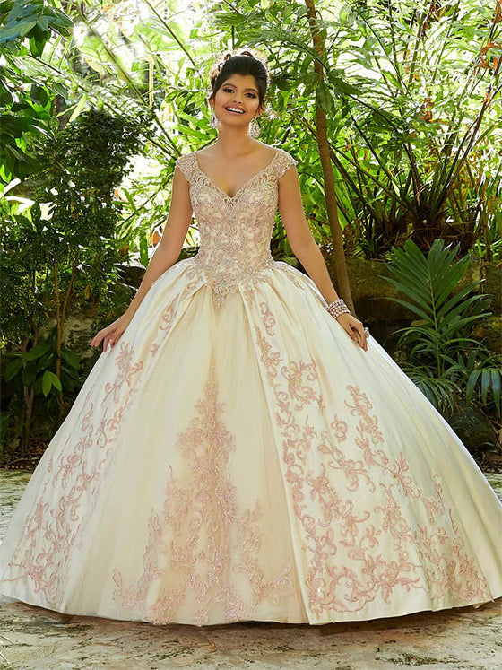 VIZCAYA BY MORI LEE 89245 QUINCEANERA DRESS