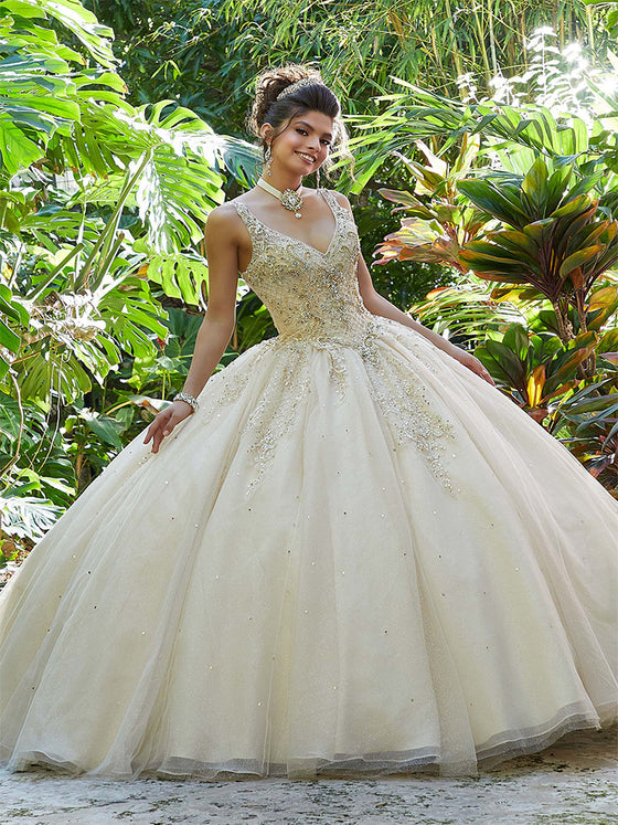 VIZCAYA BY MORI LEE 89249 QUINCEANERA DRESS