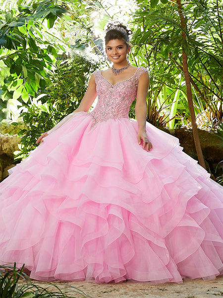 VIZCAYA BY MORI LEE 89253 QUINCEANERA DRESS