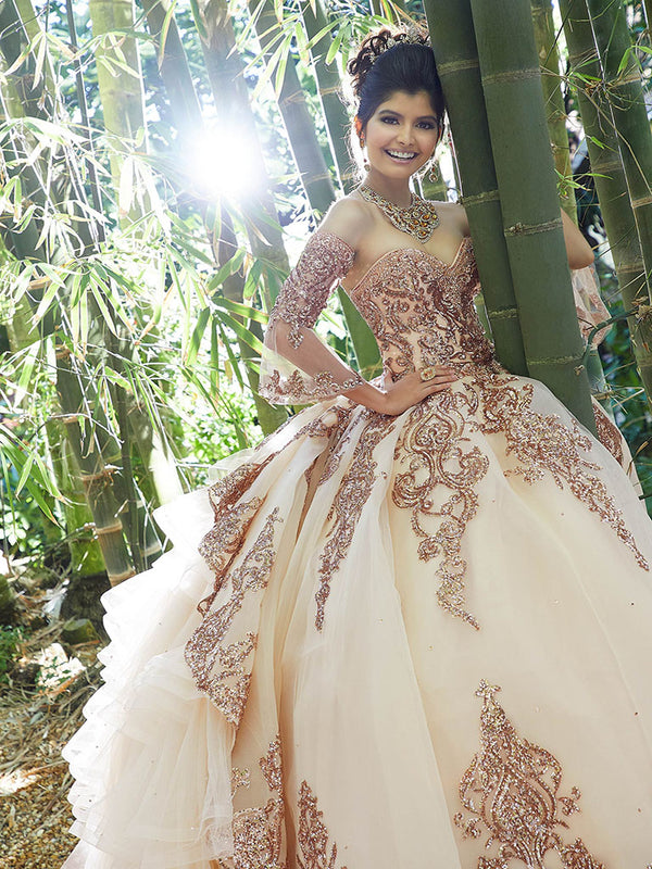 VIZCAYA BY MORI LEE 89255 QUINCEANERA DRESS