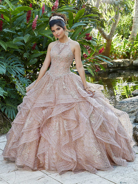 VIZCAYA BY MORI LEE 89257 QUINCEANERA DRESS