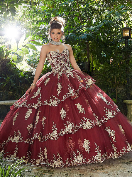 VIZCAYA BY MORI LEE 89258 QUINCEANERA DRESS