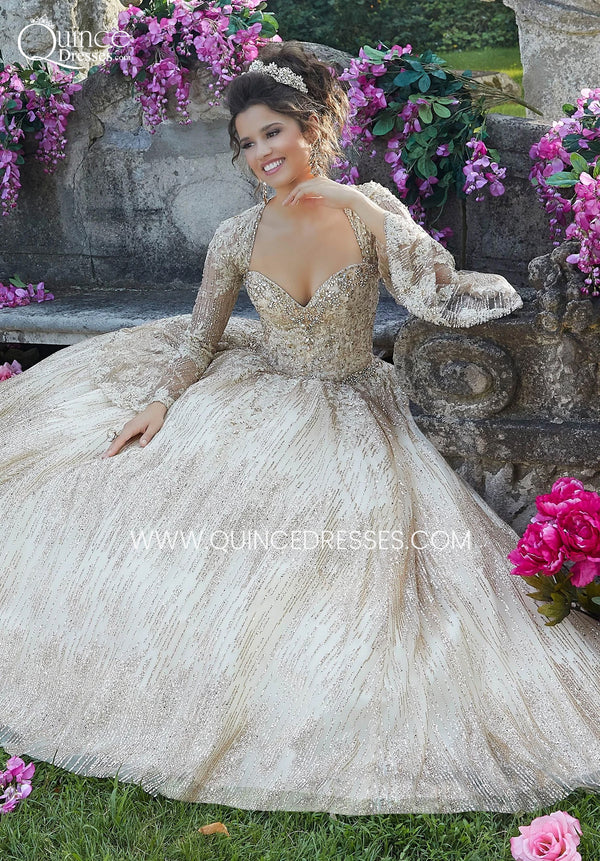 VIZCAYA BY MORI LEE 89268 QUINCEANERA DRESS