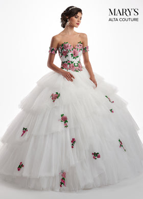 77c3ca65ce3 Alta Couture Collection MQ3014 Marys Quinceanera - QuinceDresses.com