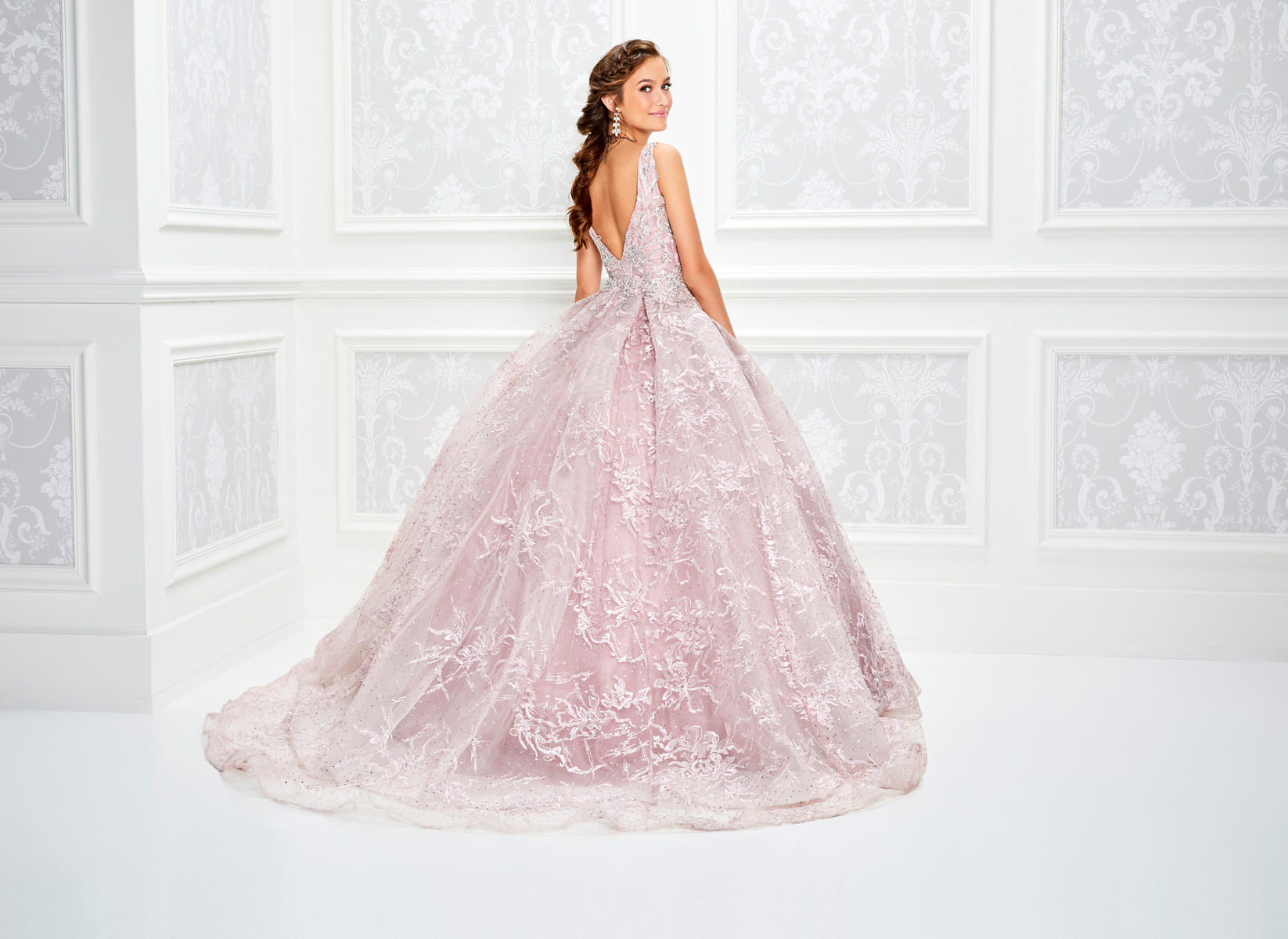 fc46182b6 Princess Ball Gown for Quinceaneras | QuinceDresses.com