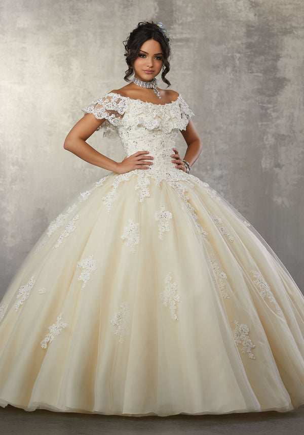 VIZCAYA BY MORI LEE 89168  QUINCEANERA DRESS