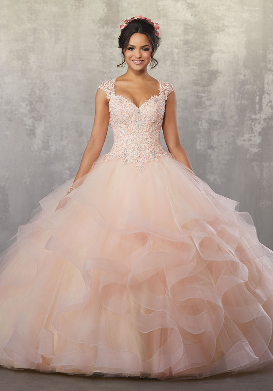 VIZCAYA BY MORI LEE 89177  QUINCEANERA DRESS