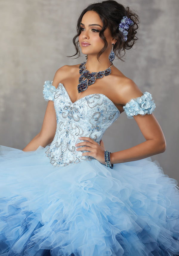 VIZCAYA BY MORI LEE 89161  QUINCEANERA DRESS