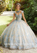 VIZCAYA BY MORI LEE 89295 QUINCEANERA DRESS