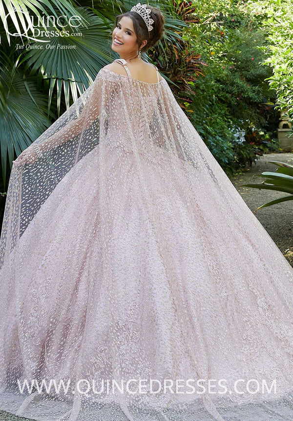 VIZCAYA BY MORI LEE 89299 QUINCEANERA DRESS (Cape Only)