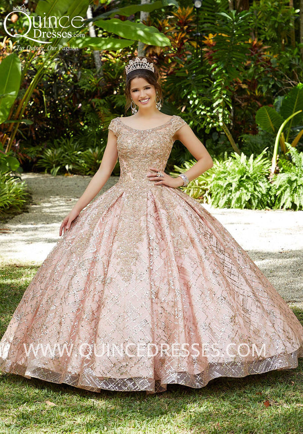 VIZCAYA BY MORI LEE 89287 QUINCEANERA DRESS