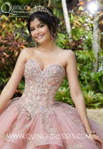 VIZCAYA BY MORI LEE 89293 QUINCEANERA DRESS