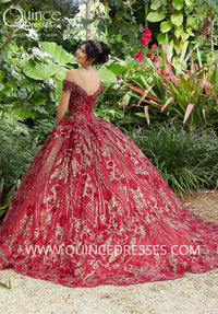 VIZCAYA BY MORI LEE 89291 QUINCEANERA DRESS