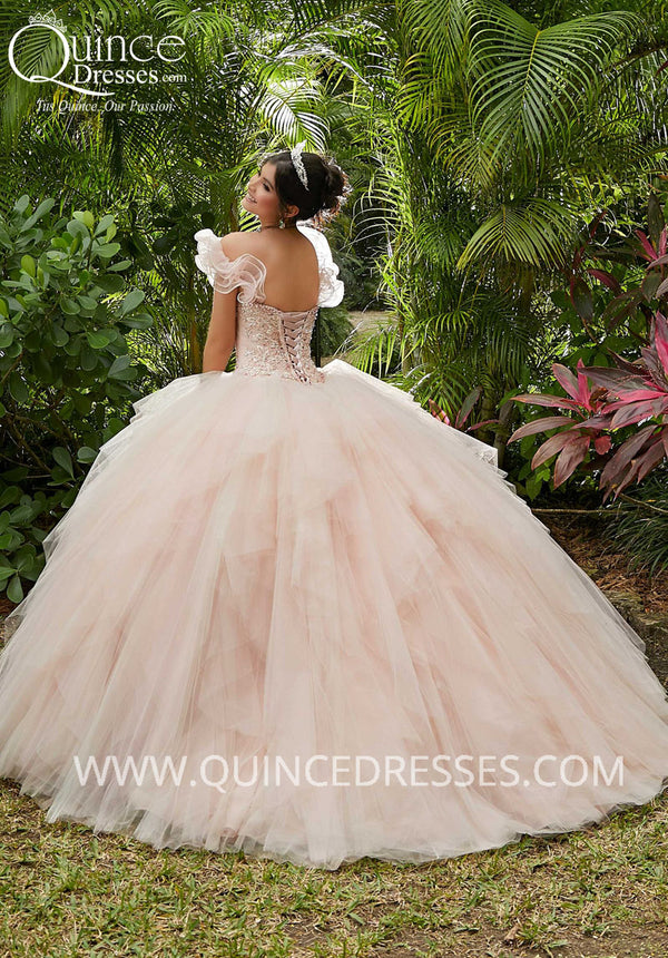 VIZCAYA BY MORI LEE 89283 QUINCEANERA DRESS