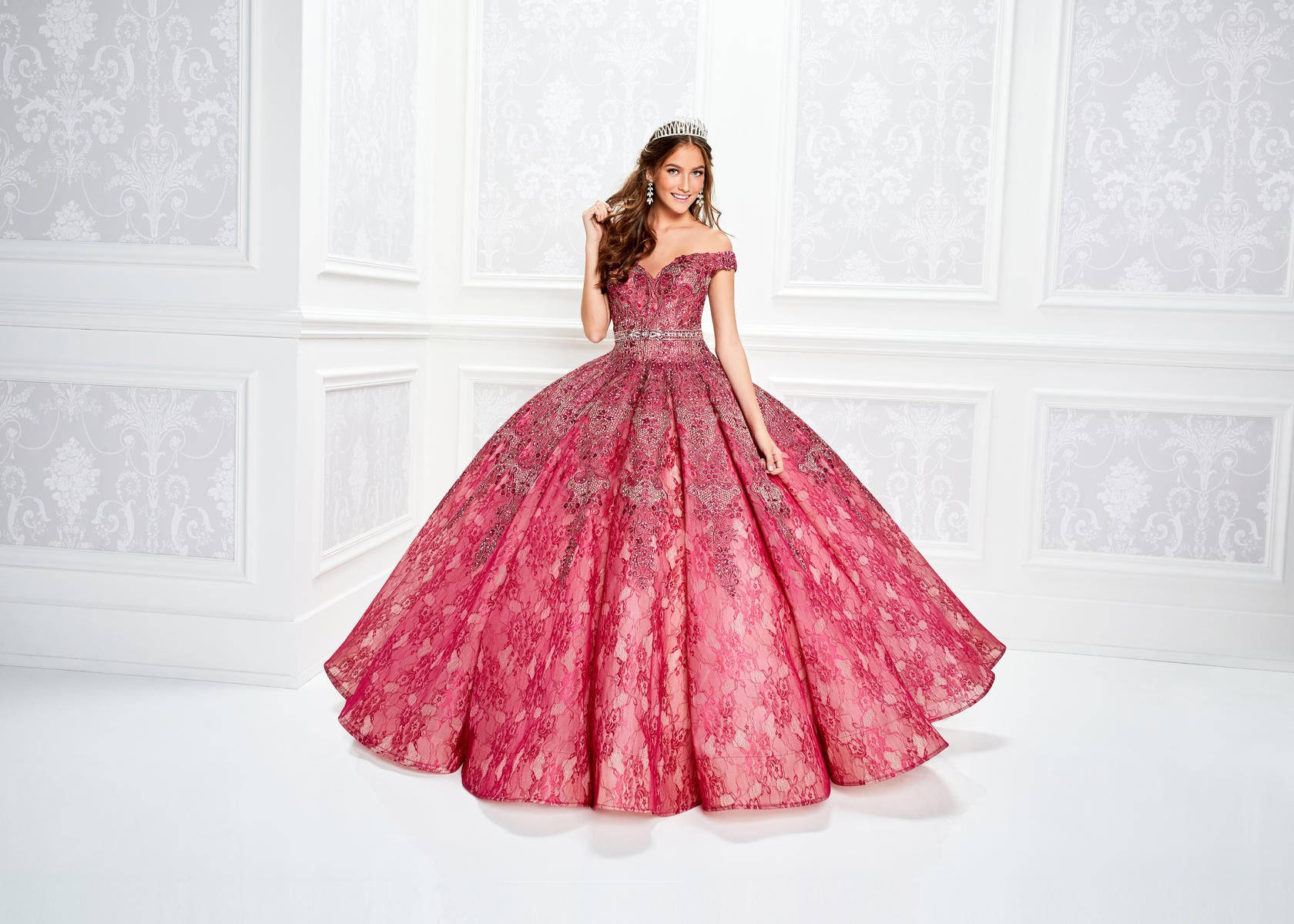0c5231542 Quinceanera Dress PR11921 Princesa - QuinceDresses.com