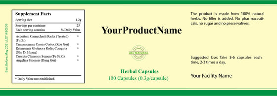 Customized Herbal Capsules
