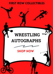 Autographed WWE Wrestling Photos