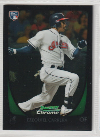 Ezequiel Carrera 2011 Bowman Draft Picks & Prospects - Chrome #15 Rookie Card